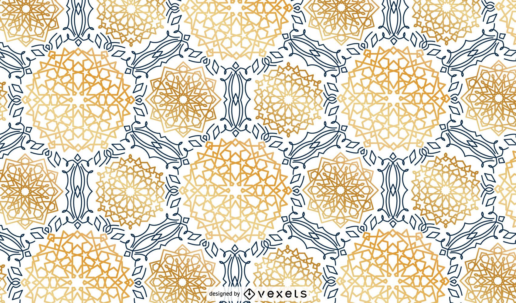 Ramadan Theme Pattern Design