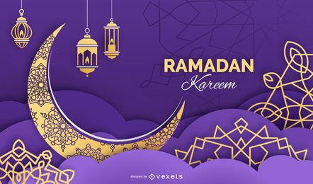 Ramadan Kareem Background Design
