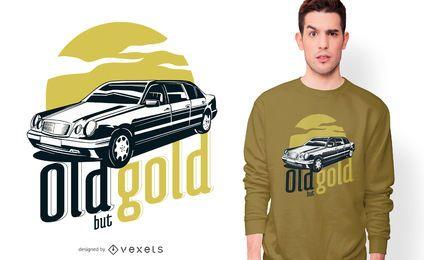 Design de t-shirt de citações de Mercedes Benz