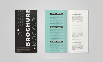 Simple Brochure Mockup Design