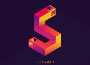 Isometrisches Illustrationsdesign Nummer 5