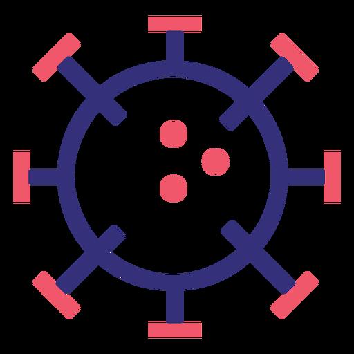 Covid 19 2019 ncov stroke icon Transparent PNG