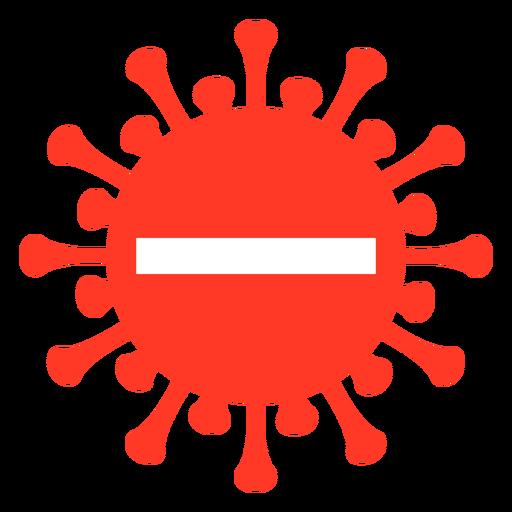 Covid stop badge Transparent PNG