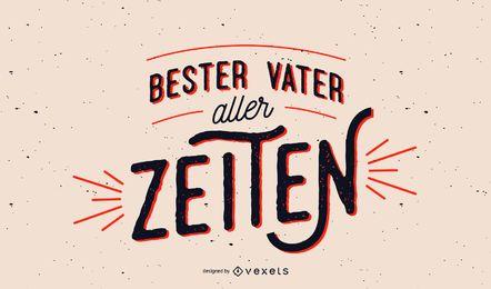 Melhor pai alemão letras