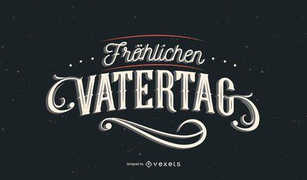 Feliz dia dos pais alemão letras