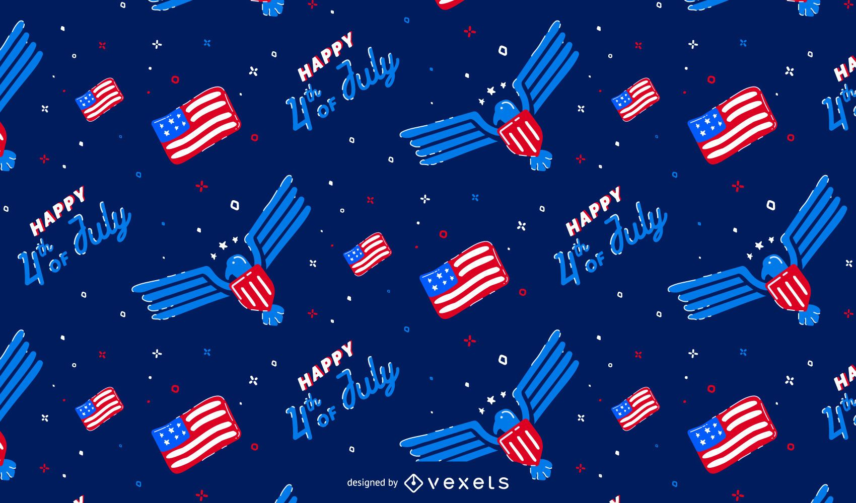 Independence day pattern design