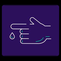 Covid 19 diabetes stroke icon