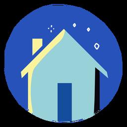 Covid 19 ficar em casa ícone