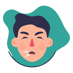 Covid 19 symptom character cough