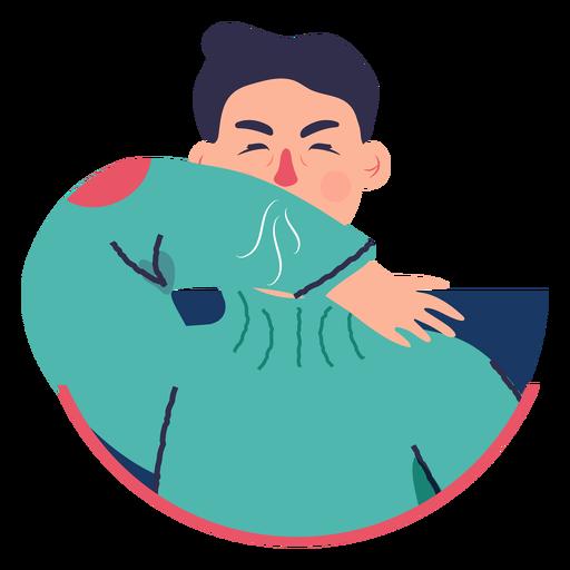Covid 19 symptom character cough elbow Transparent PNG