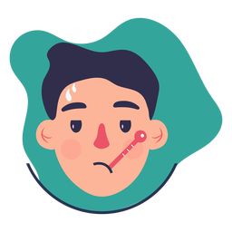 Covid 19 symptom character fever