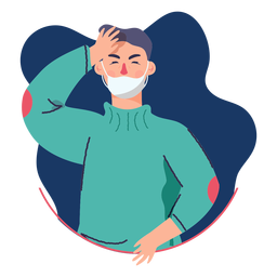 Covid 19 dor de cabeça de caráter sintoma
