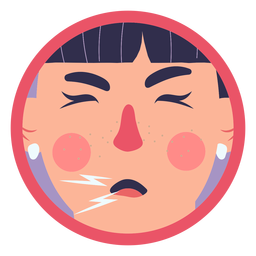 Covid 19 tosse menina sintoma