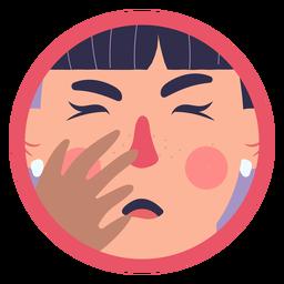 Covid 19 menina sintoma tosse