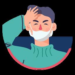 Covid 19 dolor de cabeza de síntomas