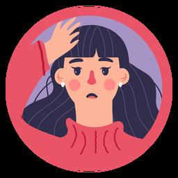 Covid 19 mujer síntoma dolor de cabeza