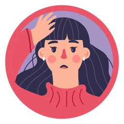 Covid 19 woman symptom headache