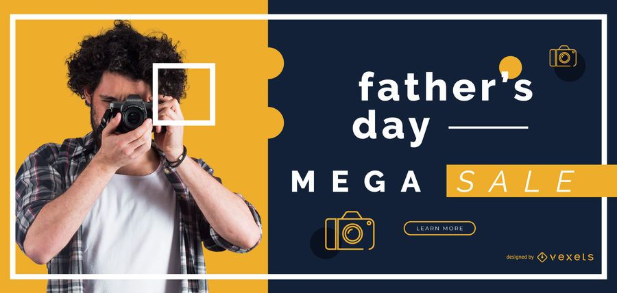 Father's day sale slider template