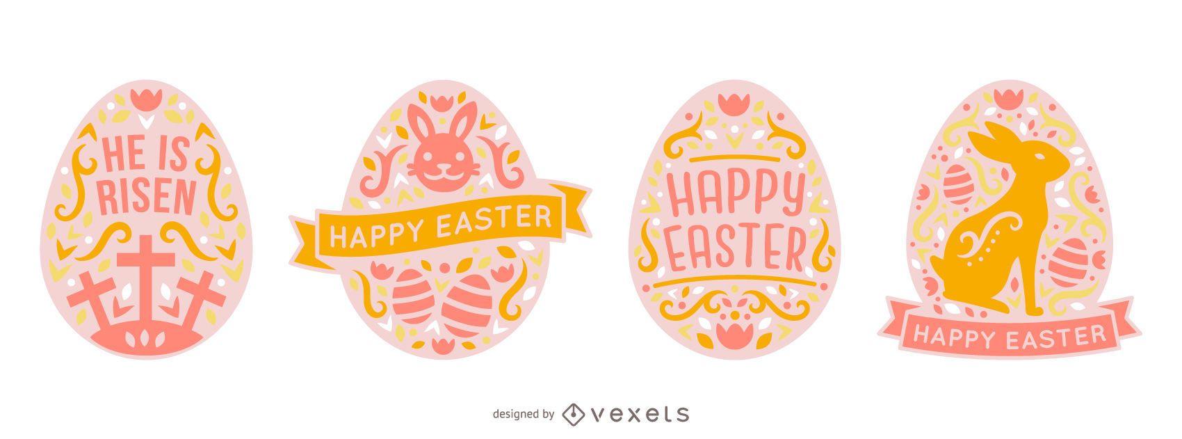Scandinavian Style Easter Egg Pack