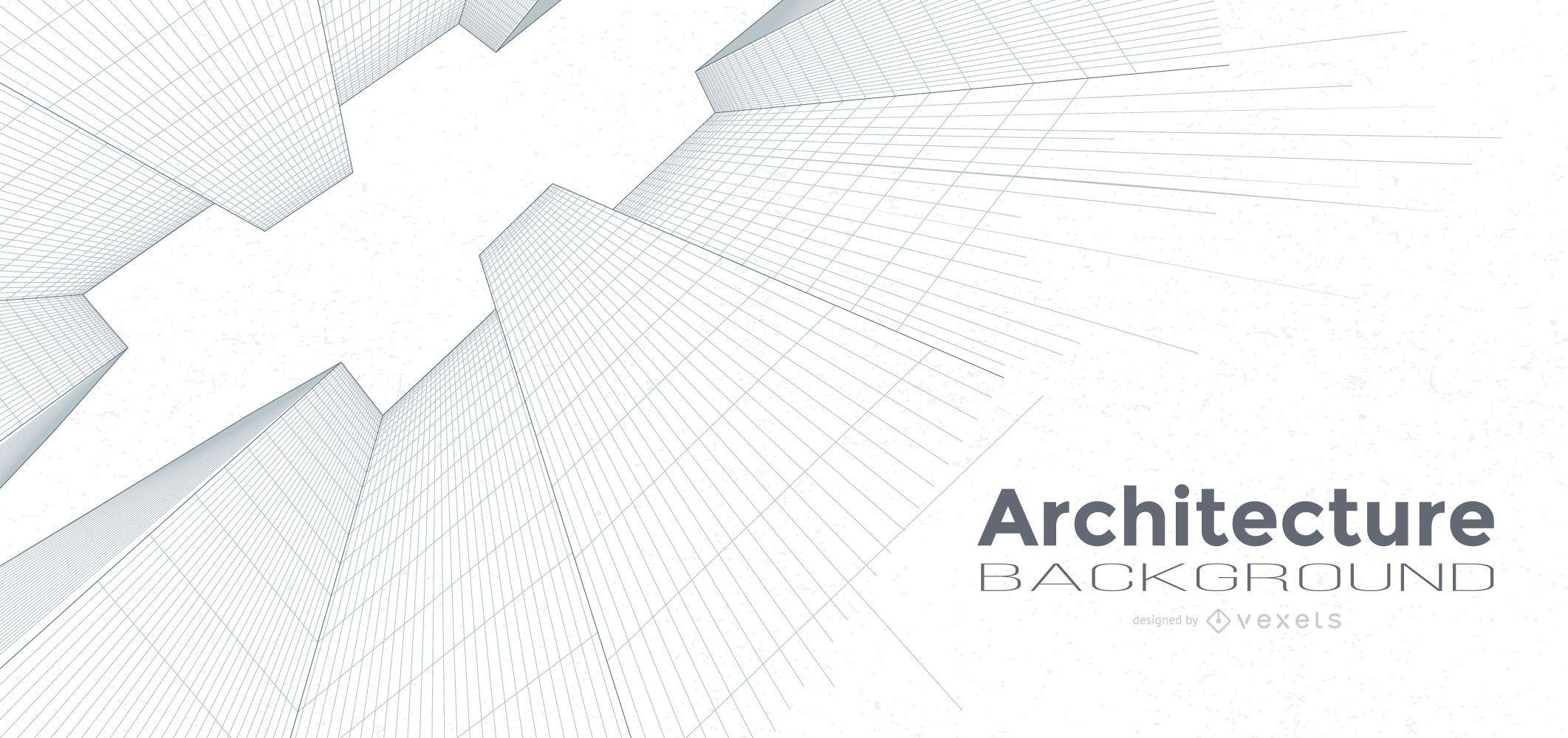 Edificios de fondo de arquitectura