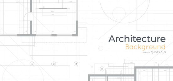 Architecture Blueprints Background Design