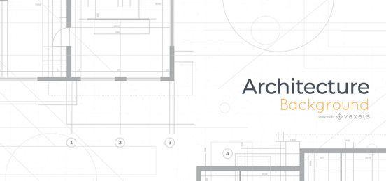 Diseño de fondo de planos de arquitectura