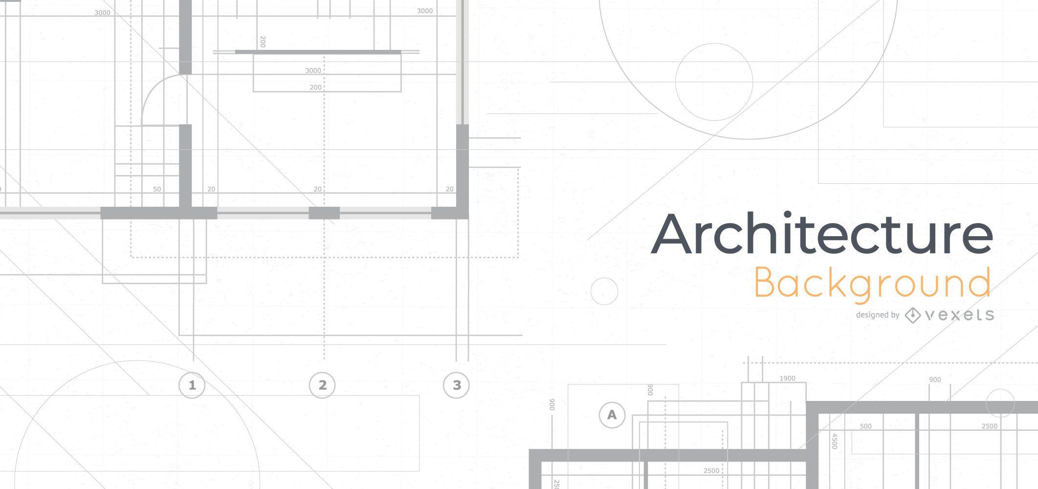 Architecture Blueprints Background Design