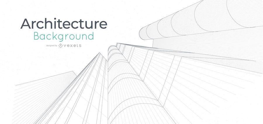Architecture buildings line background
