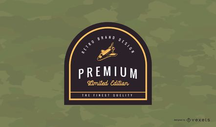 Premium Vintage Badge Logo Design