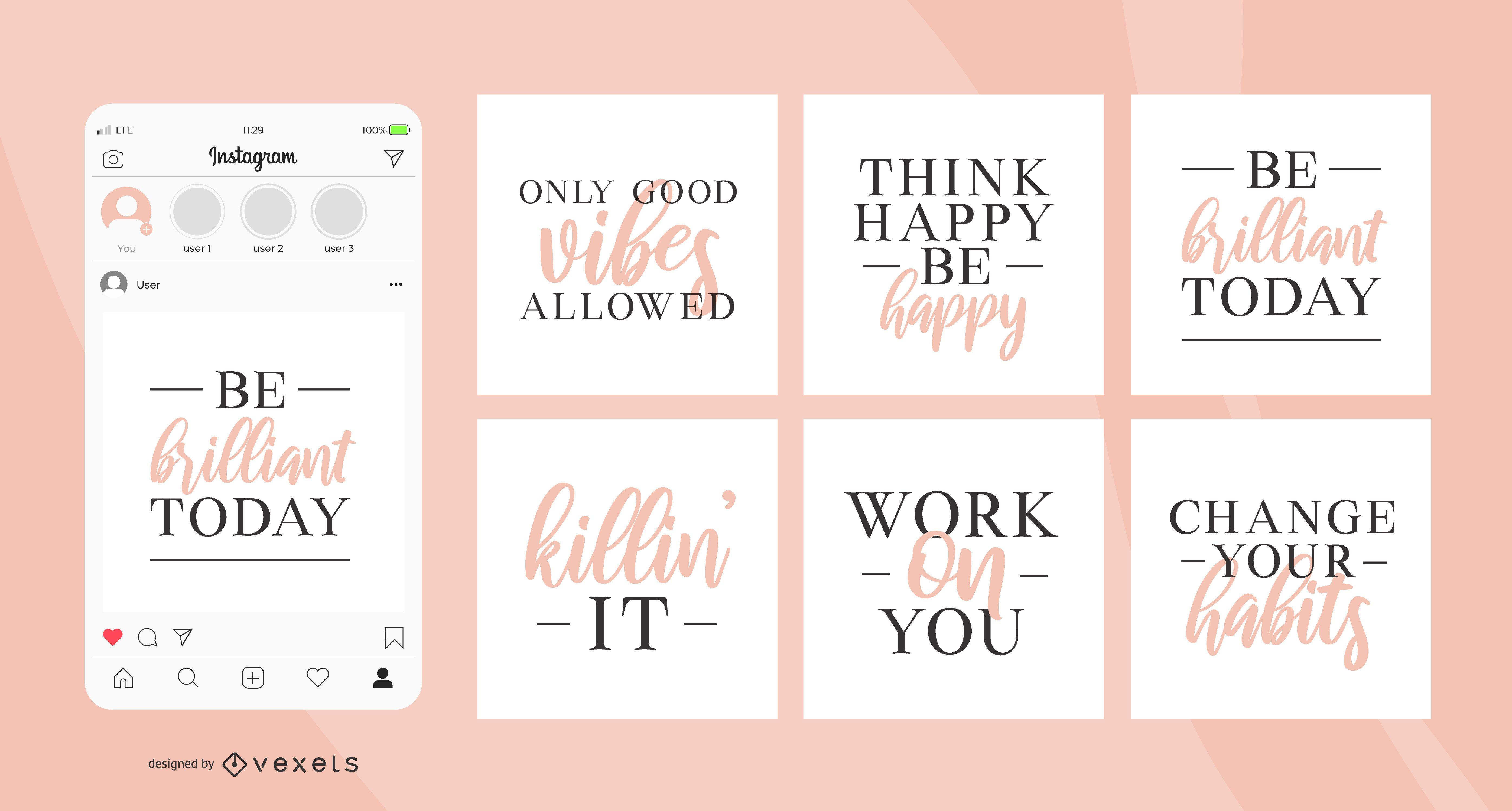 Beautiful quotes social media posts