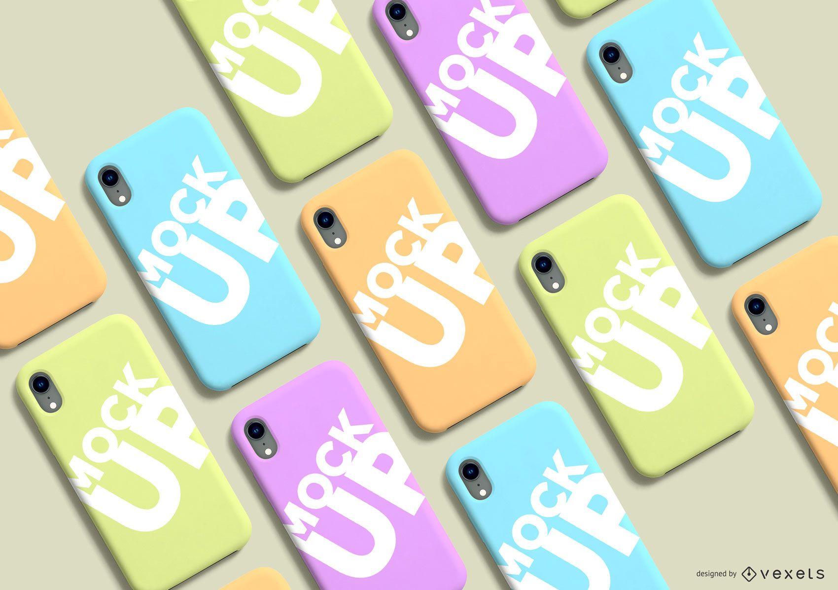 Phone Case Pack Mockup