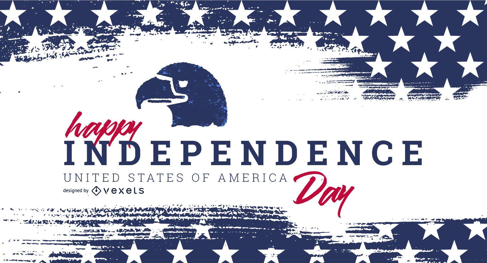 Plantilla de control deslizante del día de la independencia