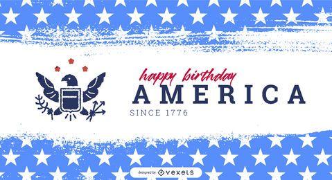 Plantilla de control deslizante del día de la independencia de américa