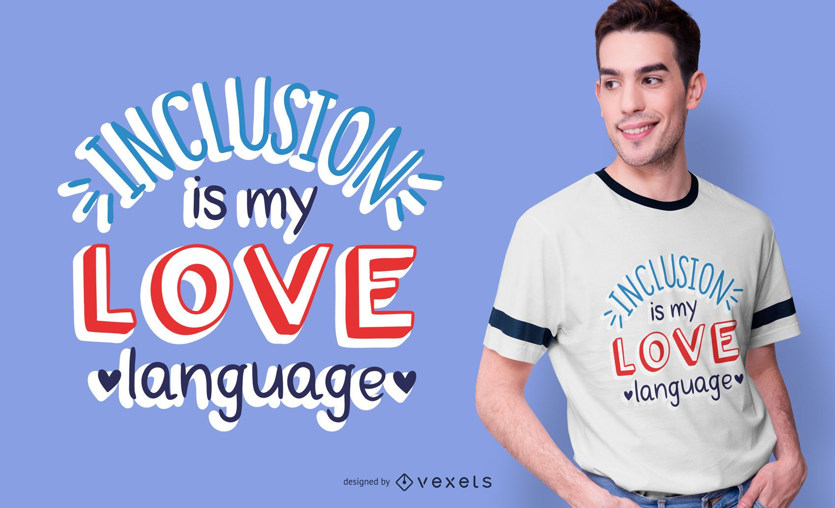Autism Awareness Text T-Shirt Design