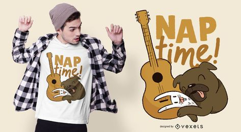Nap Time Animals T-shirt Design