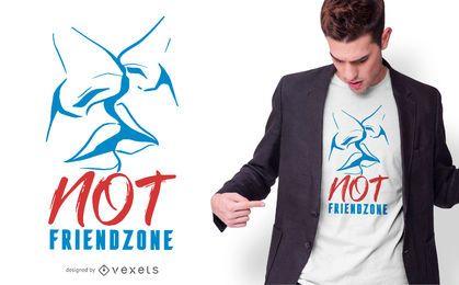 Diseño de camiseta no Friendzone