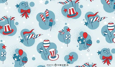 Independence day celebration pattern