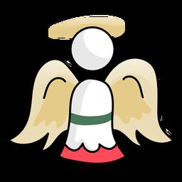 Angel wing nimbus flat