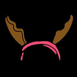 Antler horn flat