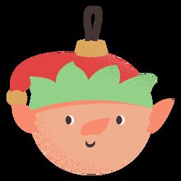 Bola elfo plano