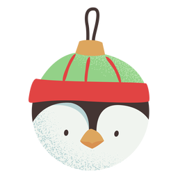 Ball penguin flat