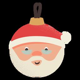 Ball santa claus flat