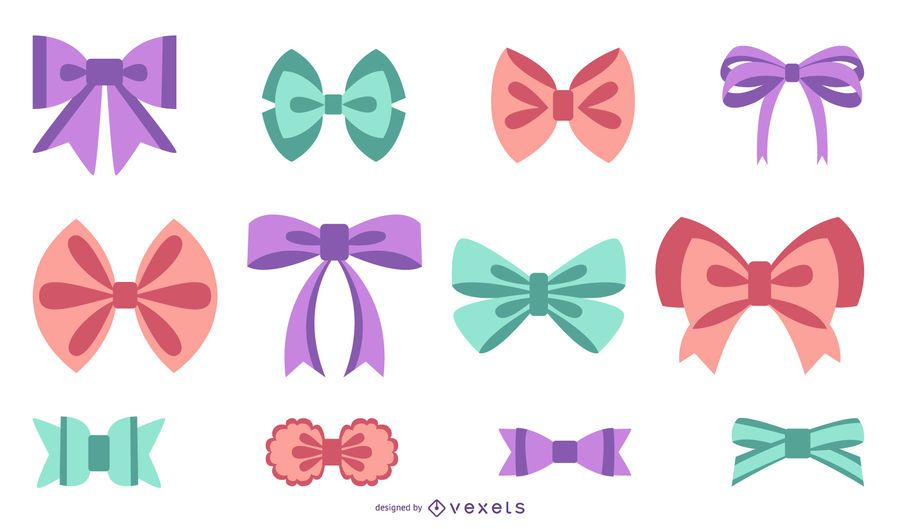 Flat Style Bow Tie Pack