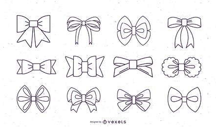 Bows stroke collection