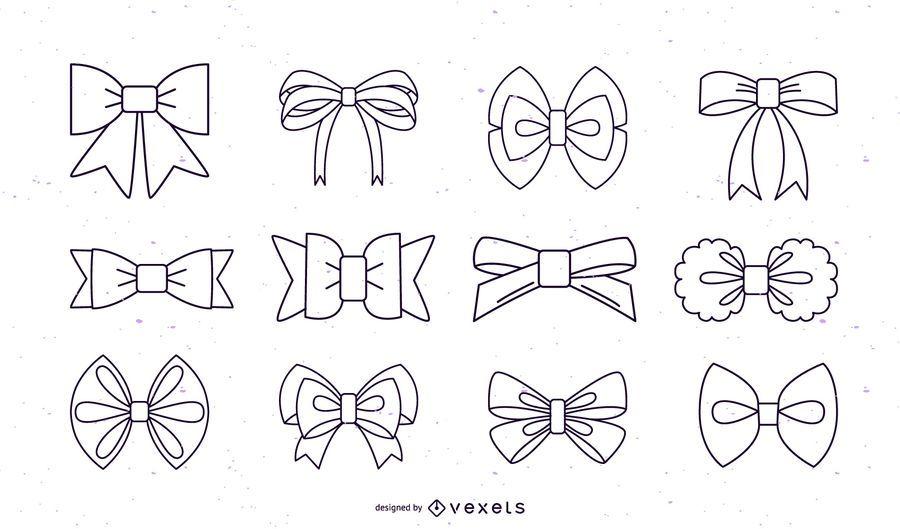 Bows stroke collection