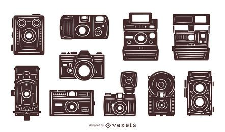 Paquete de cámaras vintage