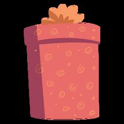 Caja de regalo arco plano