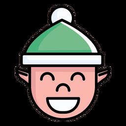 Chico elfo plano