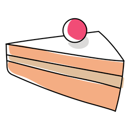 Bolo pastelaria plana natal