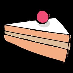 Pastel pastelería plana navidad